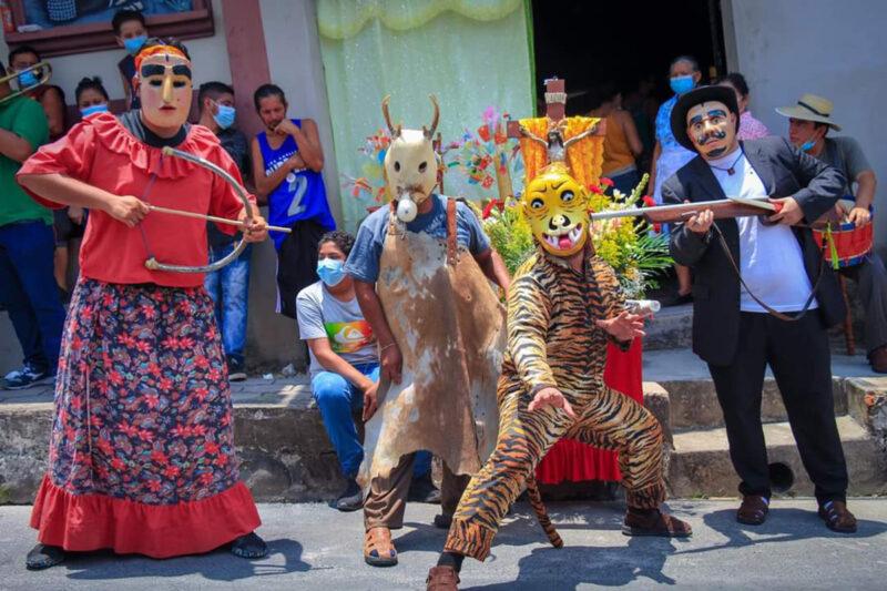 Danza del Tigre y el Venado, y el Señor de la Caridad